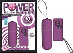 Power Slim Bullet Remote Control - Purple NW2317-2