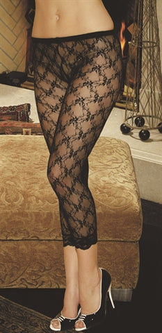 Lace Leggings Black EM-1764B