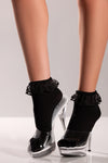 Ankle Socks - One  Size- Black BW-A01B