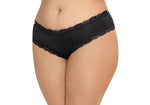 Open Back Panty - 1x - Black DG-1434XBLK1X