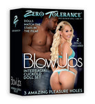 The Cuckold Doll - Black Male/ White Female ZE-DL-0632-2