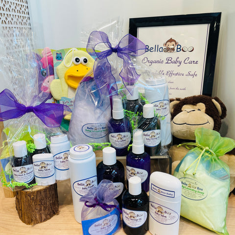 Bella Boo Baby All-Natural Baby Care Products