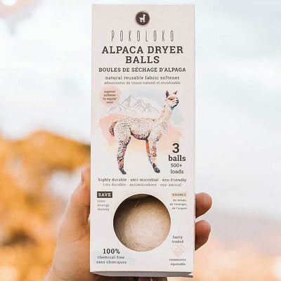 Alpaca Dryer Balls clean laundry eco friendly sustainable fair trade
