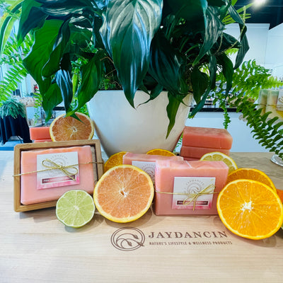 All Natural Pink Grapefruit Soap