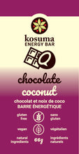 Load image into Gallery viewer, Kosuma Whole Food Energy Bars