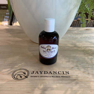 Organic baby collection chemical free all natural massage oil