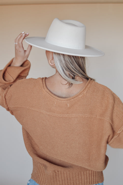 Dream Catcher Sweater - Camel
