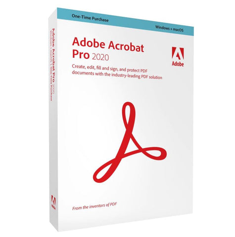 Adobe Acrobat Pro 2020 ESD Download