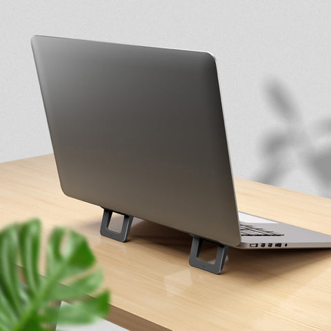 Adjustable Cooling 1 Pair Mini Portable Invisible Laptop Holder Stand for Desk Notebook