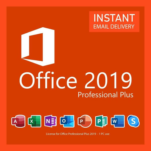 Microsoft Office 2019 Professional full version license key lifetime