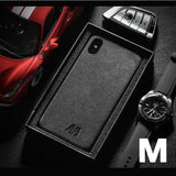 🔥Luxury Racing Car Logo Cover Case for iPhone and Samsung 100% Alcantarra🔥