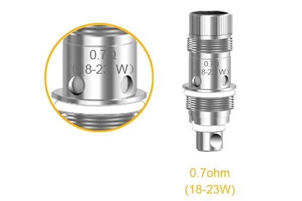 Aspire Nautilus Mini BVC Coils | 0.7ohm | 5 Pack