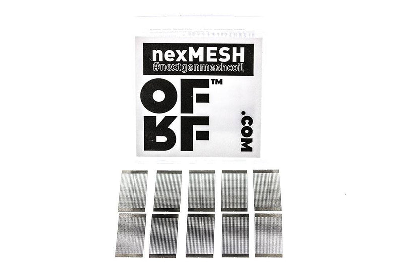 OFRF nexMESH Sheet Coil for Profile RDA | Mesh 0.13ohm (10 Pack)