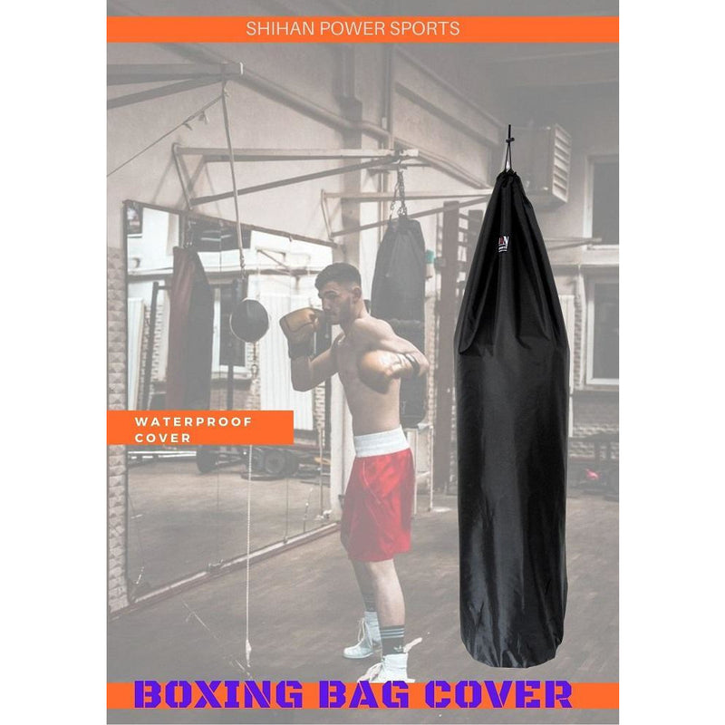 RED Ideal for freestanding boxing bags SHIHAN POWER SPORTS Boxing Bag Cover Waterproof 5-6ft /& 24inch Diameter Large Bag punch bag Outdoor Protection for your boxing Bag