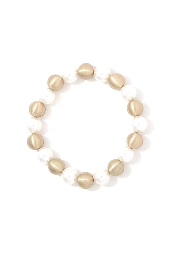 Beaded Stretch Bracelet - Naughty Smile Fashion