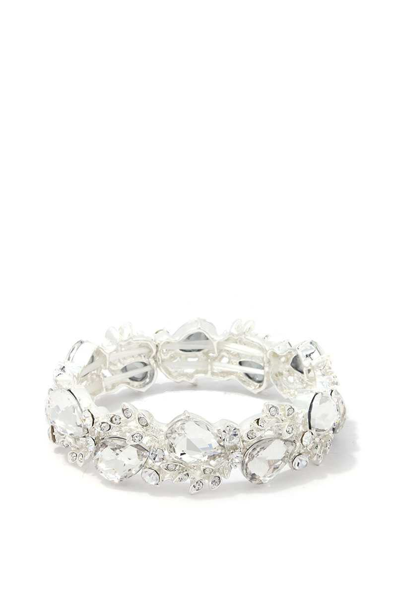 Teardrop Shape Stretch Bracelet - Naughty Smile Fashion