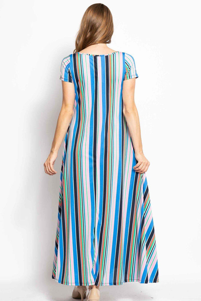 Breezy Summer Maxi Dress - Naughty Smile Fashion