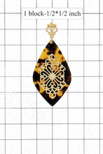 Load image into Gallery viewer, Teardrop Moroccan Pattern Earring - Naughty Smile Fashion