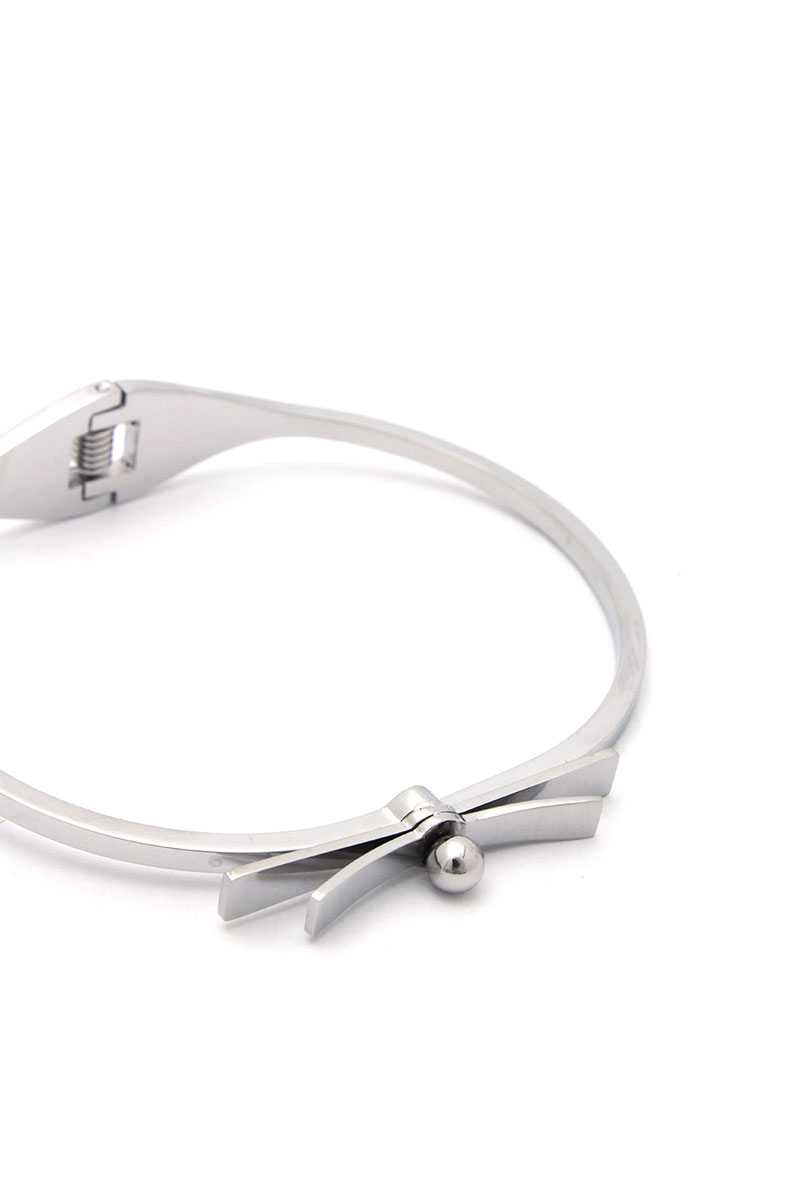 Knot Stainless Steel Bangle - Naughty Smile Fashion