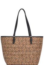 Load image into Gallery viewer, Chic Trendy Cork Textured Fashion Pattern Shopper Bag