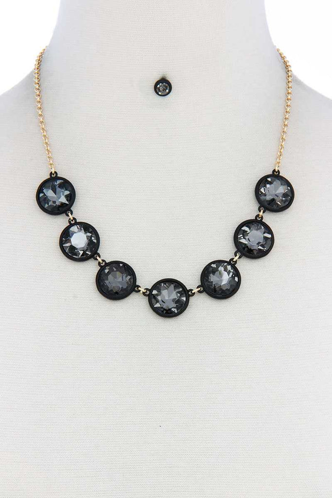 Round Shape Necklace - Naughty Smile Fashion
