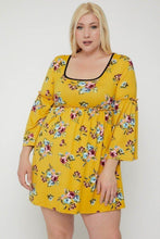 Load image into Gallery viewer, Floral Print Dress - Naughty Smile Fashion