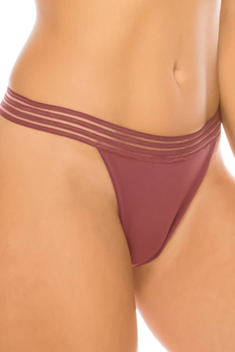 Mesh Lace G-string - Naughty Smile Fashion