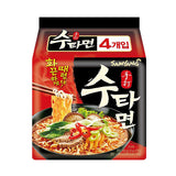 Samyang Su Tah Spicy Hand Made Style Noodle Ramen 5 Pack