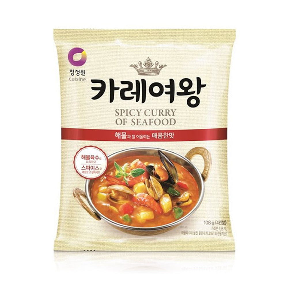 Chungjungwon Queen's Curry Seafood Flavor