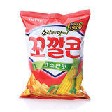 Lotte Popping Corn Chips Original