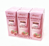 Binggrae Strawberry Flavor Milk 6 Packs