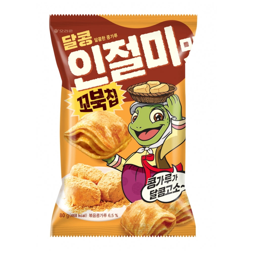 Orion Turtle Chip Injulmee Stir Fried Bean Flavor