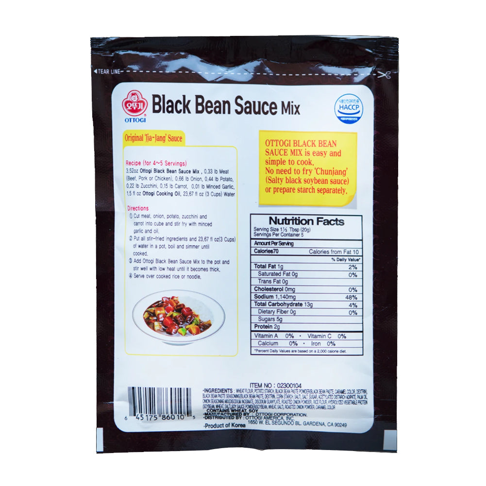 Ottogi Black Bean Sauce Mix 'Jjajang Powder'