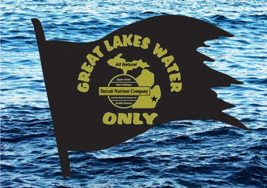 Great Lakes Water Only Logo all natural