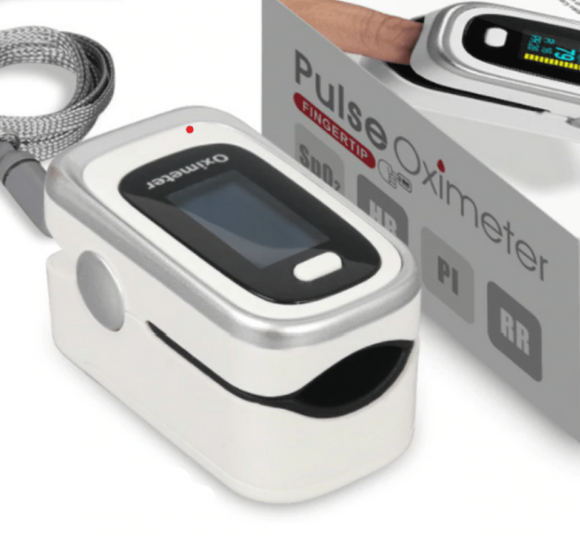 Fingertip Pulse Oximeter & Heart Rate Monitor for Household Use