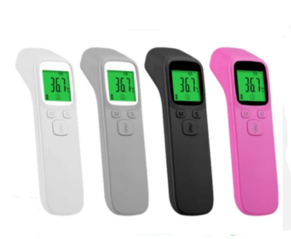 Digital Forehead Thermometer Non-contact Infrared Temperature Gun for Baby/Adult (Pink/White/Black/Grey)