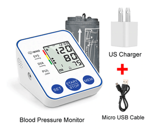 Digital Arm Blood Pressure Monitor for Home