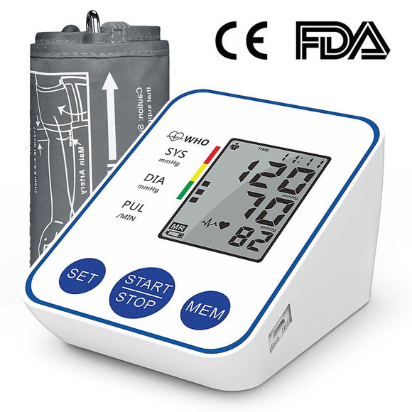 (ABPM-1) Digital Arm Blood Pressure Monitor for Home Use