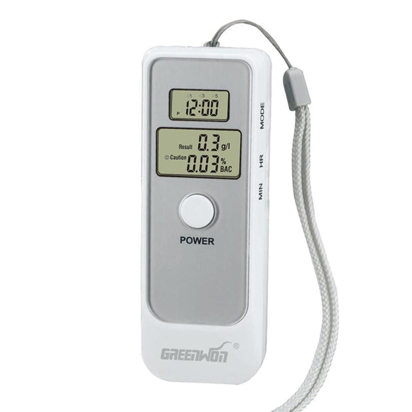 Digital Breathalyzer Alcohol Breath Tester for Personal Use