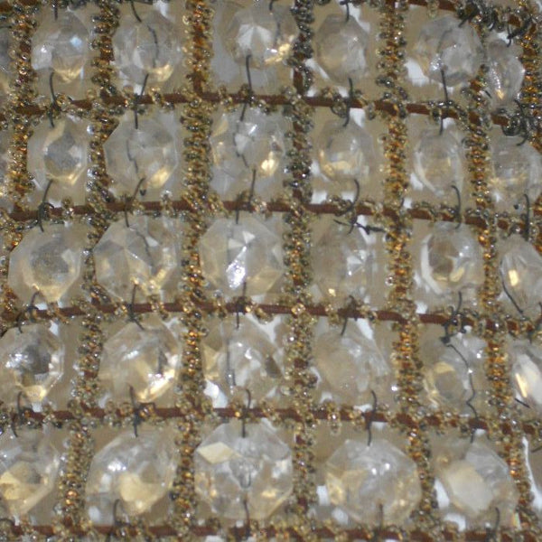 Vintage Crystal Wall Fittings (2)