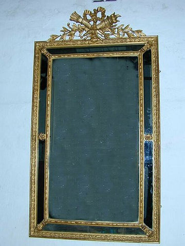 FA33: Gilt Mirror with Trophy