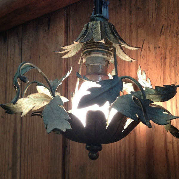 Metal Floral Light