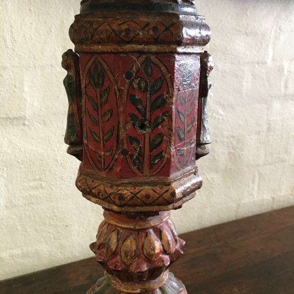 Lamps made from C18 Indian Bed Legs
