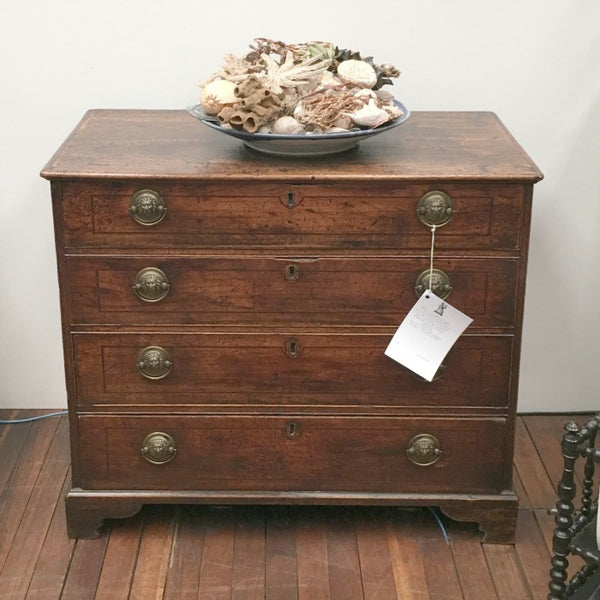 Regency Period Campaign Chest of Drawers