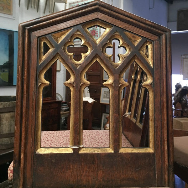 English Gothic Revival Hall Chairs