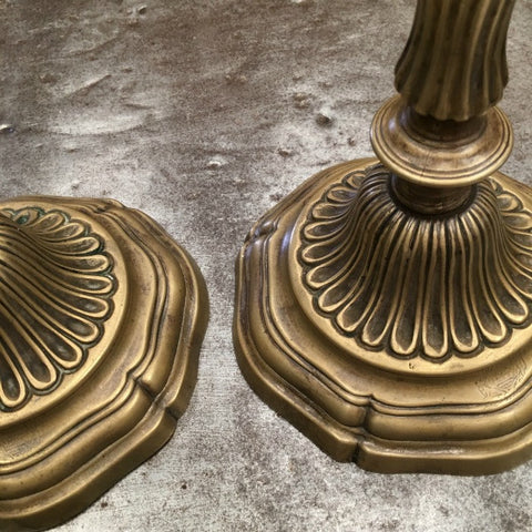 Pair of LXVI Candlesticks