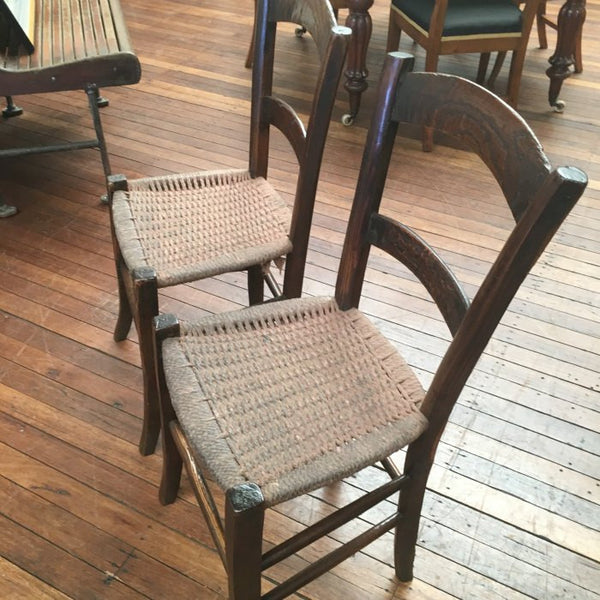 French Provincial 'Stocking' Chairs