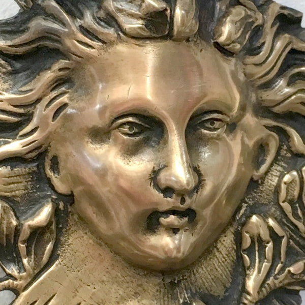 French Antique Bronze Girondelles