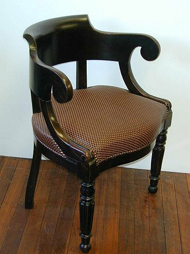 TB0054: Napoleon III Desk Chair