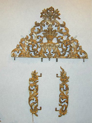 TB0067: LXV Gilt Mirror Parts